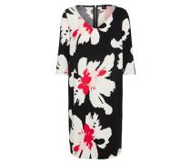 Kleid pink / schwarz / weiß