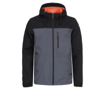 Softshelljacke 'eliam' schwarz