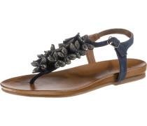 Sandalen marine / silber