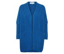 Strickjacke 'fogwood' blau