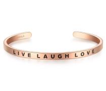 Armband Live Laugh Love mit tollem Schriftzug