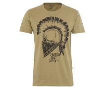 T-Shirt 'Nasil' oliv