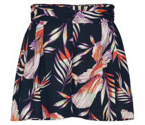 Shorts creme / blau / koralle