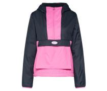 Jacke pink / schwarz