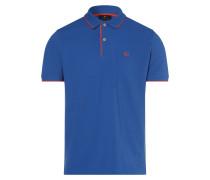 Poloshirt ' ' blau