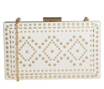 Handtasche 'errotha' gold / weiß