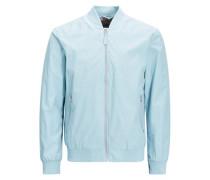 Klassische Jacke hellblau