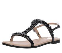 Sandale 'estelle' schwarz