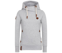 Hoody 'No More Pain' graumeliert
