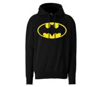 """Kapuzen-Sweatshirt """"Batman"""" gelb / schwarz"""