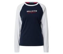 Shirt weiß / navy