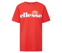 T-Shirt 'Albany' rot / weiß