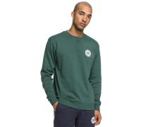 Rebel Crew Sweatshirt grünmeliert