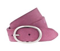 Ledergürtel '35 mm' pink