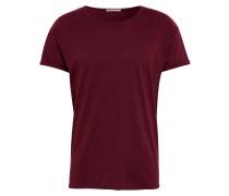 T-Shirt 'Roger Slub' weinrot