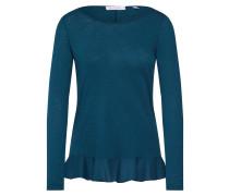 Sweatshirt blau / petrol