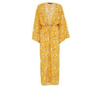 Kleid 'Floral' gelb