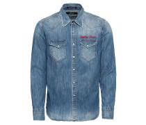 Jeanshemd 'Hemd' blue denim