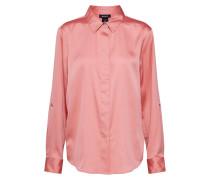 Bluse 'roll Hidden Placket' rosa