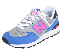 Sneaker 'ml574' kobaltblau / grau