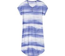 Nachthemd blau / weiß