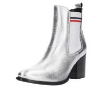 Chelsea-Boot 'sock Shiny MID Heel'