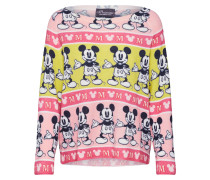 Pullover rosa / beige