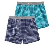 Boxershorts (2 Stück) marine / aqua