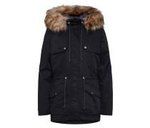 Jacke 'outdoor-Jacke' schwarz
