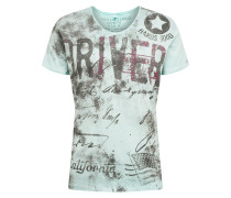 T-Shirt 'Driving' mint