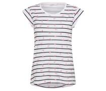 T-Shirt pink / schwarz / weiß