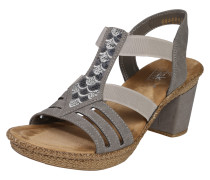 Sandalette 'Dots' stone