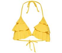 Bikini-Top gelb