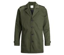 Klassischer Trenchcoat grün