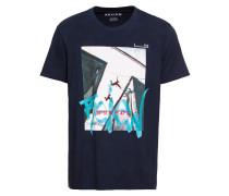 T-Shirt 'RN Photo' navy / mischfarben