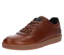 Leder-Sneaker cognac