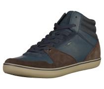 Sneaker enzian / dunkelbraun