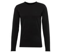 Langarmshirt 'yoshi 508100' schwarz