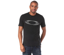 'Ellipse Tech' T-Shirt schwarz