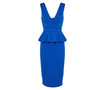 Midi Kleid blau