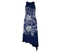 Kleid 'vest_Wakiut' dunkelblau / weiß