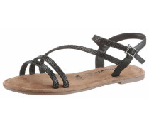 Sandalen/Sandaletten braun
