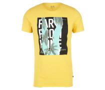 Shirt gelb / schwarz / weiß / mint