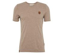 T-Shirt dunkelbeige