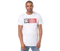 Vertical Zone T-Shirt weiß
