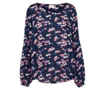 Bluse 'Dorita Blouse' marine / mischfarben