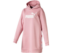 Jerseykleid 'Amplified' rosé / weiß