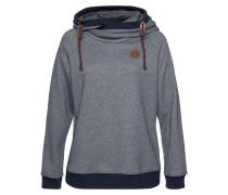 Sweatshirt marine / taubenblau