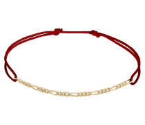 Armband gold / bordeaux