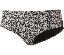 Bikini Hose schwarz / weiß